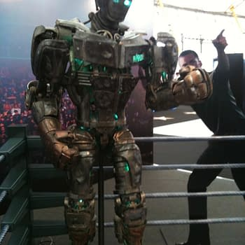 Atom The Boxing Robot From Real Steel Is Lurking At Big Screen