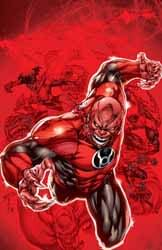 Second Print Covers Go Red For The DC New 52