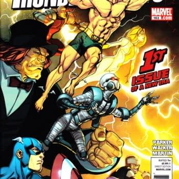 Thunderbolts #163 Cover Takes On The DC Relaunch