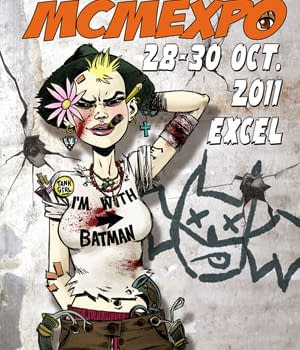 Rufus Dayglos Tank Girl Poster For London MCM Expo