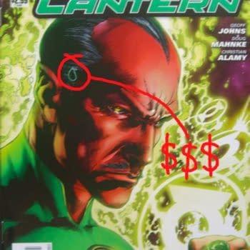 DC Comics Recall Green Lantern #1 Misprint – Speculator Hunt Starts Now