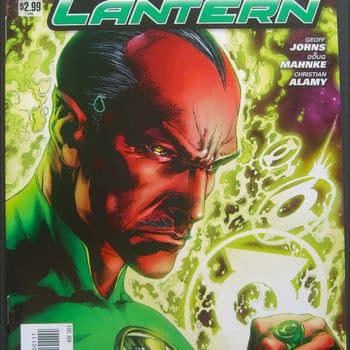 "Green Lantern ""Teardrop"" Misprint Sells For $15"