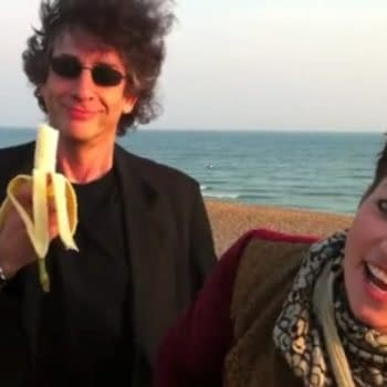$2500 For A Hug From Neil Gaiman And Amanda Palmer. Possibly A Naked One.