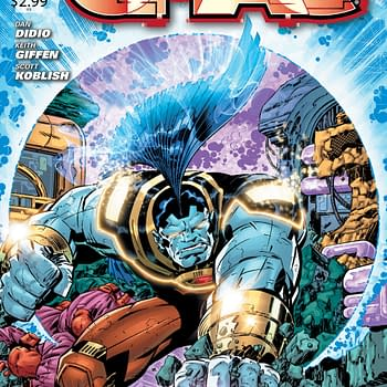 OMAC #1 Five Page Preview by Dan DiDio Keith Giffen and Scott Koblish