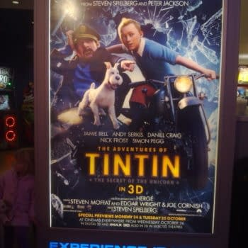 Where The Writers Credits Are As Big As The Actors And Directors… Tintin
