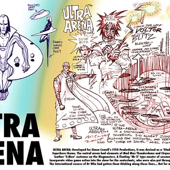 The Simon Cowell And Brendan McCarthy TV Show That Never Was &#8211 Ultra Arena