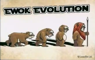 The Evolution Of Ewoks And More Courtesy Of Barney Stinson
