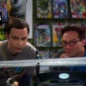 The DC Comics New 52 On The Big Bang Theory