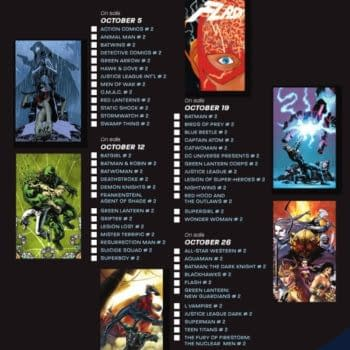 DC Relaunch Month Two Checklist