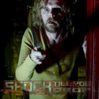 Simon Pegg Gets His Hair On In First Photo From Horror Comedy A Fantastic Fear Of Everything