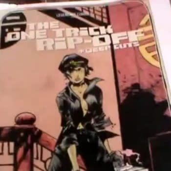 What's In Bob Schreck's Bag – The New Cover To Paul Pope's One Trick Rip Off, And News About Supertrouble
