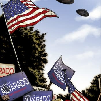 """Saucer Country From Paul Cornell And Ryan Kelly: """"It's The West Wing Does The X-Files"""""""