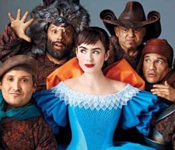New Stills For Tarsem Singhs Snow White Plus A Universal vs. Relativity Face-Off