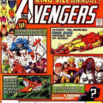 And Finally… Another Mike Golden Cover For Avengers Annual #10