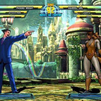 Phoenix Wright Vs Squirrel Girl In Marvel Vs Capcom 3