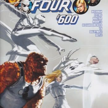 Marvel Spoils Fantastic Four #600 In National News. SPOILERS Obviously.