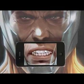 Getting Silly With The Talking X-O Manowar Poster