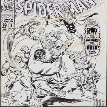 John Romita Spider-Man Cover, Watterson Calvin And Hobbes Watercolor Both Sell For Over $100,000 At Auction