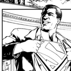 A Very Black Superman