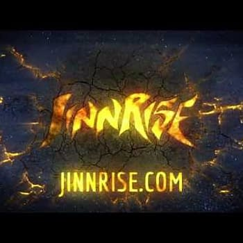 Jinnrise Launches At Middle East Comic Con In Dubai