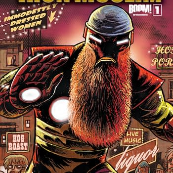 Ten Page Preview: Iron Muslim #1 by Rich Johnston and Bryan Turner