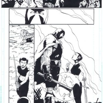 The Comic Book Pages That The Hyatt Lost At C2E2
