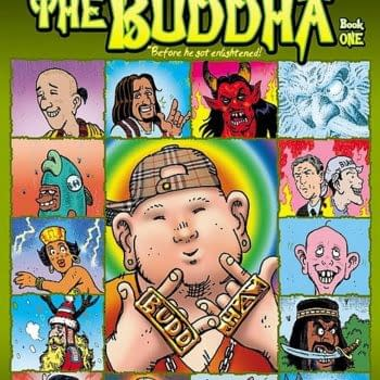 Preview: Alan Grant's Tales Of The Buddha Before He Became Enlightened