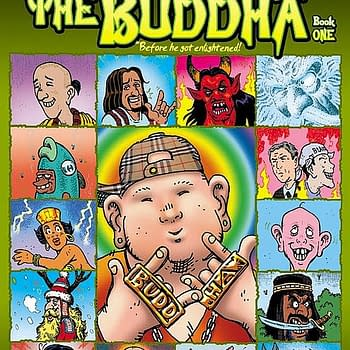Preview: Alan Grants Tales Of The Buddha Before He Became Enlightened
