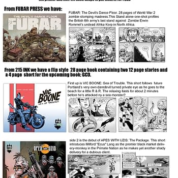 A Genuinely Free Comic Book Day From Fubar And 215 Ink