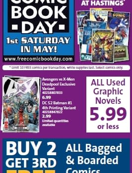FCBD 2012: Collector's Paradise In California… And Hastings