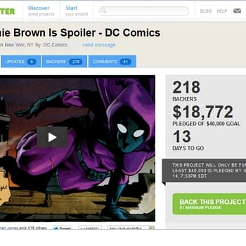FOOL: Stephanie Brown Returns In New DC Title Spoiler To Be Funded By Kickstarter