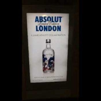 Jamie Hewlett's Absolut Vodka Advertising