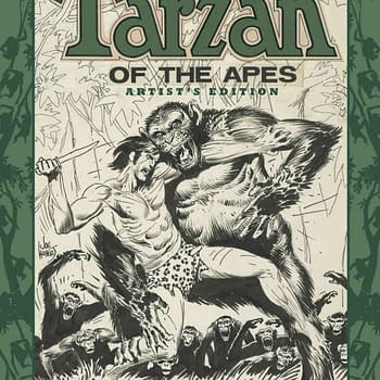 Joe Kuberts Tarzan Is The Latest To Get The Artists Edition Treatment From IDW In September