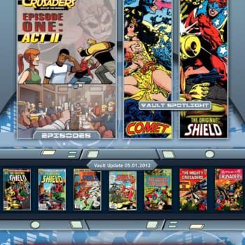 Red Circle Comics Launches New Crusaders App