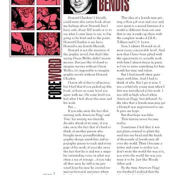 Brian Michael Bendis Thanks Howard Chaykin For The Blowjob
