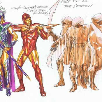 Alex Ross Designs For Flash Gordon And Ming The Merciless