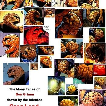 The Many Faces Of Greg Lands Ben Grimm