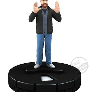 Joss Whedon Stan Lee Harry Knowles And Morgan Spurlock HeroClix Figures For San Diego Comic Con