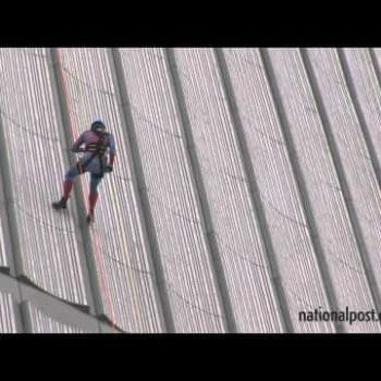 When Chip Zdarksy Cosplayed As Spider-Man Down The Side Of A Building