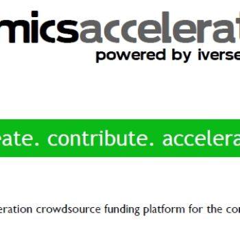 A Comics Rival To Kickstarter? iVerse Launches Comics Accelerator