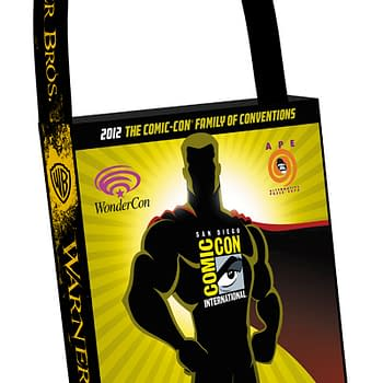 Official Bags Of Comic Con Include The Big Bang Theory DC Nation And Man Of Steel