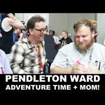 Grace Randolph Scores An Adventure Time Keychain – Oh, And Talks To Pendleton Ward About The Madness Of Comics