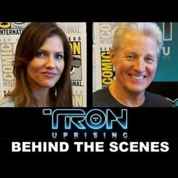 Grace Randolph Talks To Bruce Boxleitner, Tricia Helfer, Charlie Bean, Robert Valley, Adam Horowitz And Edward Kitsis About Tron Uprising