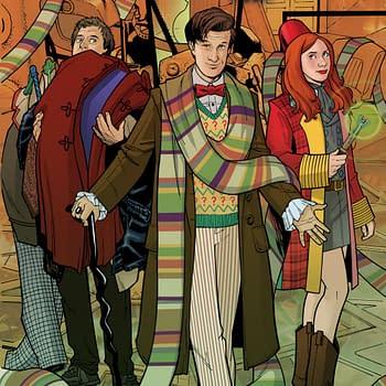 The Doctor Cosplays As Himself On Doctor Who #1 Hastings Variant Cover