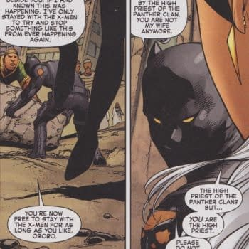 Black Panther And Storm Split Up In Avengers Vs X-Men