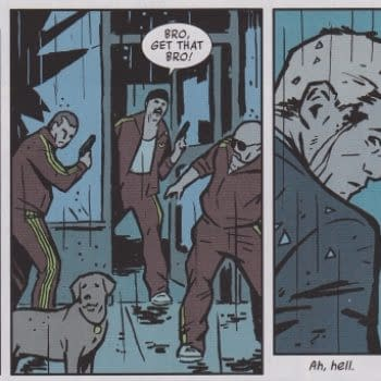 Eleven Thoughts About Eleven Comics – Hawkeye, Daredevil, Harvest, Thief Of Thieves, Muppets, Rasl, First X-Men, Alpha Girl, Epic Kill, Mind The Gap and Think Tank