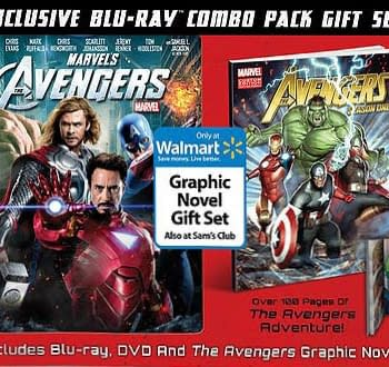 Walmart To Release Exclusive Avengers Season One Original Graphic Novel With DVD And Blu-Ray