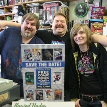 Brian Kozicki Of Buried Under Comics, Passes