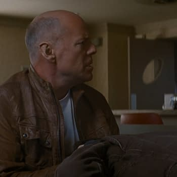 Bruce Willis And Joseph Gordon Levitt Go On A Very Special Date In This New Clip From Looper