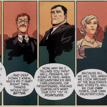 A History Of Harpers Row In Batman #12